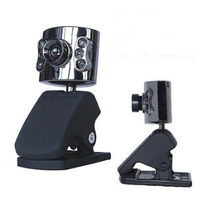 Webcam Luz Led Visão Noturna+microfone