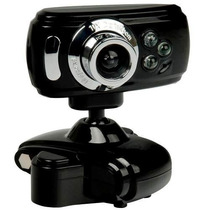 Webcam 32mp 32000k C/ Led + Microfone Entrega A Jato !!!