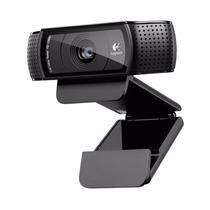 Logitech Hd Pro Webcam C920 Full Hd 1080p Carl Zeiss 15 Mp !