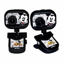 Webcam 2mp Usb Disney Mickey