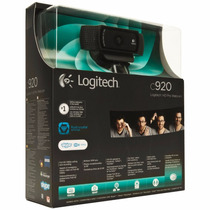Webcam Logitech C920 Hd Pro Full Hd 1080p 15mp Pc/mac E Note