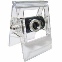 Webcam 12mp Microfone E Led Usb Visão Noturna!
