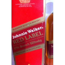 Whisky Red Label 43% Antigao!!!