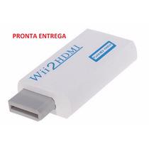 Wii2hdmi - Adaptador Conversor Nintendo Wii Hdmi 1080p