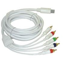 Cabo Video Componente Hd Para Nintendo Wii 480p E 720p