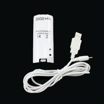 Kit Bateria - Controle Wii 3600 Mah + Car. Usb Cod. 007