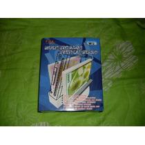 Base Vertical Nintendo Wii - Suporte Extra Sd Dvd Sensor Bar