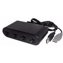 Adaptador 4 Controles De Game Cube Para Wii U Pc Smash Bros