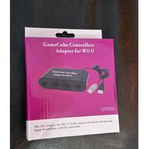 Controle Adaptador Game Cube Nintendo Wii U Smash Bros Novo