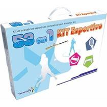 Kit Esportivo Para Nintendo Wii 53 Em 1