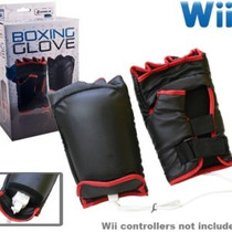 Nintendo Wii : Luva Boxe Novo, Lacrado.