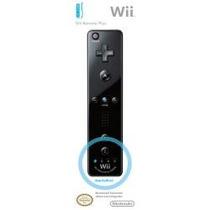 Novo Wii Remote Plus Usa Com Motion Plus Embutido Black