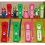 Wii / Wiiu Remote Plus Original Mario, Luigi, Peach, Yoshi