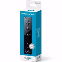 Controle Wii Remote Plus Preto Original Lacrado
