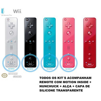 Wii Remote + Nunchuck - Wiimote Nintendo Wii - Controle