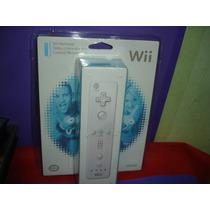 Wii Remote 100% Original Nintendo Novo Lacrado No Blister