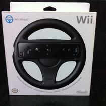 Volante Wii E Wii U - Volante Mario Kart Original Lacrado