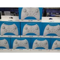 Controle Wii U Pró Controller Branco Original Asiático.