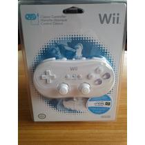 Controle Classic Nintendo Wii Original Novo Lacrado