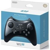 Controle Nintendo Wii U Pro Controller Preto