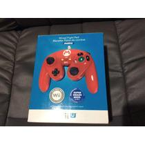 Fight Pad Wired Controle Mario Edition - Lacrado - Wii U