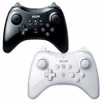 Controle Nintendo Wii U Pro Controller Preto/branco