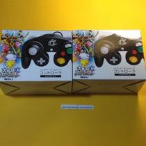 2 Unidades Do Controle Clássico Gamecube Wii U 100%novos