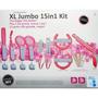 Kit Jumbo 15 Em 1 - Wii / Wii U - Tech Dealer - Rosa
