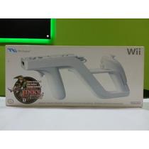 Wii Zapper Com Jogo Link´s Crossbow Training Novo