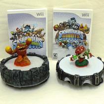Kit Skylanders (2 Jogos + Acessórios) - Nintendo Wii
