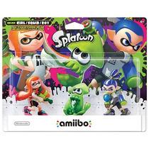 Kit Amiibo Splatoon Inkling Boy Girl Nintendo Lacrado Wii U