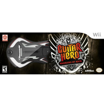 Novo Guitarra Guitar Hero Warriors Of Rock Wii Sem Jogo