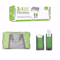 Kit Balança 3in1 Fitness Wii Fit Mochila Capa Controles Novo