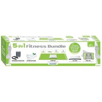 Kit Para Wii Fit 5-in-1 Fitness Bundle Workout Kit