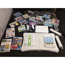 Console Nintendo Wii + Kit Fit Plus Board + Controles +jogos
