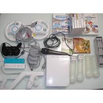 Nintendo Wii Completão+23 Jogos Originais+vários Acessórios.