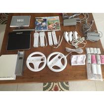 Nintendo Wii Completo Com 2 Jogos Brinde