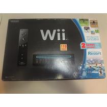 Nintendo Wii Black Original Americano Completo + Jogo - Veja