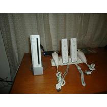 Vendo Nintendo Wii Destravado Completo+35 Jogos Veja Lindo