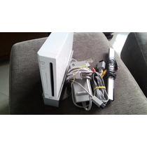 Nintendo Wii Destravado C/ 2 Controles + 30 Jogos Brindes