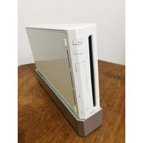 Nintendo Wii Branco + 2 Remotes + Nunchuk + Silicone!