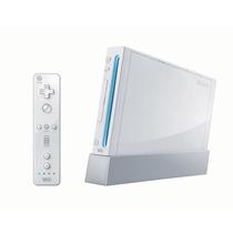 Nintendo Wii Desbloquedo Com Dois Controles