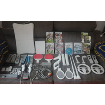 Nintendo Wii 2 Controles, Jogos Originais, Varios Acessórios