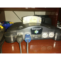 Nintendo 64 Com 2 Controles E 1 Fita