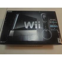 Nintendo Wii Black Americano Completo - Roda Game Cube