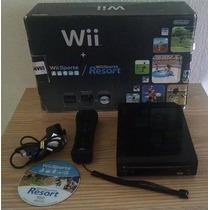 Nintendo Wii Black Completo