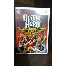 Guitar Hero Aerosmith Para Wui Ou Wui U