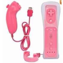 Controle Wii Remote+nunchuck+silicone + C Motion - Cod. 12