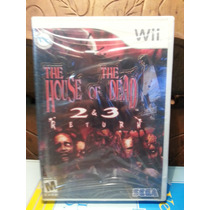 The House Of The Dead 2 & 3 Return Nintendo Wii -usa Lacrado