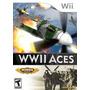 Wwii Aces - Wii- Usado